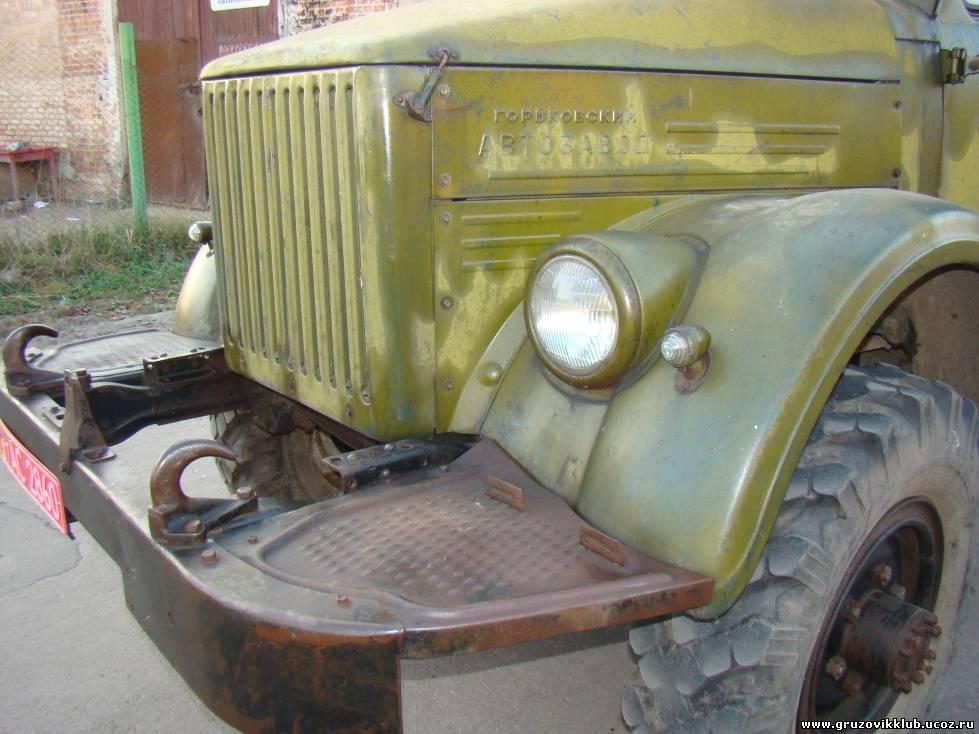 Первый ГАЗ-63 в коллекции. ГАЗ-63А от Уральского Сокола